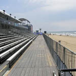 Bleachers, platforms, and stairs at Surfing Championship in Huntington Beach 4 of 8