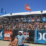 Bleachers, platforms, and stairs at Surfing Championship in Huntington Beach 7 of 8